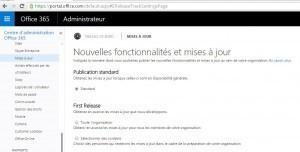 """""""Configuration des Nouvelles fonctionnalités et mises à jour dans Office 365"""""""