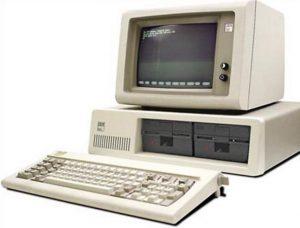 """""""Les premiers ordinateurs PC"""""""