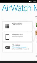 """Agent Airwatch MDM sous Windows Phone"""