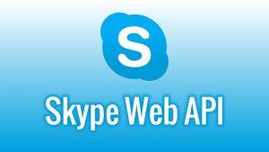 """""""Les nouveaux SDK pour Skype"""""""